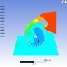 Pressure distribution n 0.3 and 0.5m